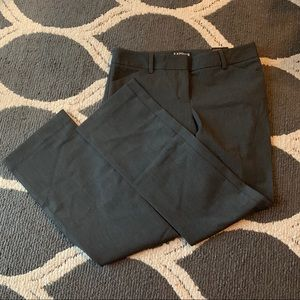 Express Editor Pants Charcoal Size 6S NWT